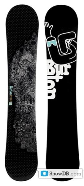 Snowboard Burton Royale 2007 2008 Snowboard And Ski