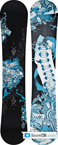 Snowboard Burton Bullet 2008 2009 Snowboard And Ski
