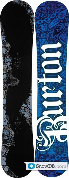 halvin ostaa halpaa ainutlaatuinen muotoilu Snowboard Burton Bullet 2009/2010 :: Snowboard and ski ...