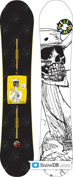 snowboard burton easy livin 2010 2011 snowboard and ski catalog. Black Bedroom Furniture Sets. Home Design Ideas