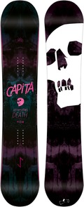 Capita Black Snowboard of Death 2011/2012 snowboard