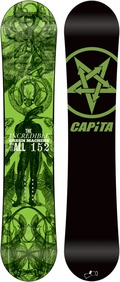 Capita Green Machine FK 2011/2012 152 snowboard