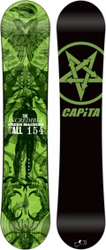 Capita Green Machine FK 2011/2012 154 snowboard