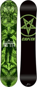 Capita Green Machine FK 2011/2012 158 snowboard