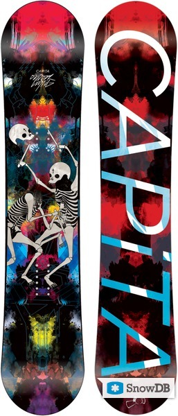 Snowboard Capita Outdoor Living 2011 2012 Snowboard And