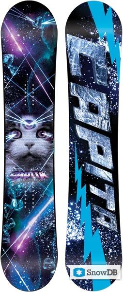 Snowboard Capita Space Metal Fantasy Fk 2011 2012