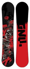 GNU Altered Genetics 2008/2009 snowboard