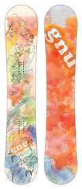 GNU B-Real Series 2008/2009 snowboard