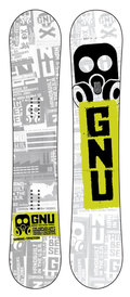GNU Carbon High Beam MTX 2008/2009 snowboard