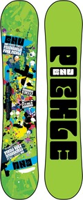 GNU Forest Bailey Pickle 2011/2012 snowboard