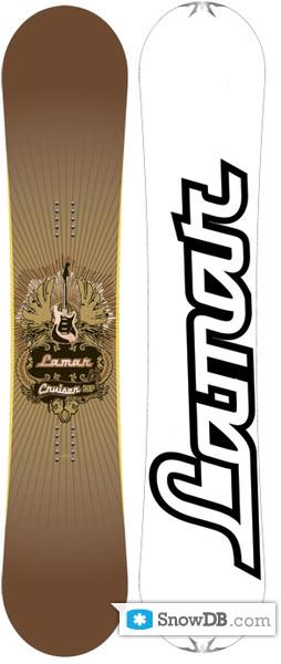 eb317409a202 Snowboard Lamar Cruiser 2008 2009    Snowboard and ski catalog ...