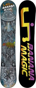LIB Technologies Banana Magic 2011/2012 snowboard