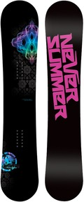 Never Summer Infinity 2010/2011 snowboard