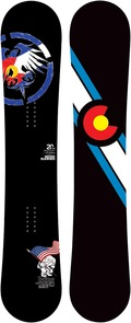 Never Summer Heritage X 2011/2012 snowboard