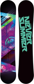 Never Summer Infinity 2011/2012 snowboard