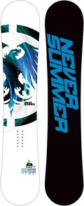 Never Summer Legacy 2011/2012 snowboard
