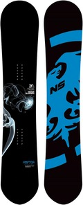 Never Summer Raptor 2011/2012 snowboard