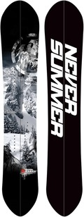 Never Summer Summit Custom Split 2011/2012 snowboard