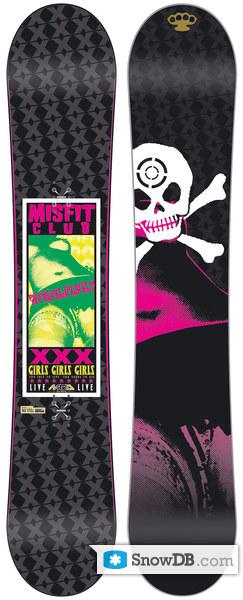 Nitro snowboard misfit