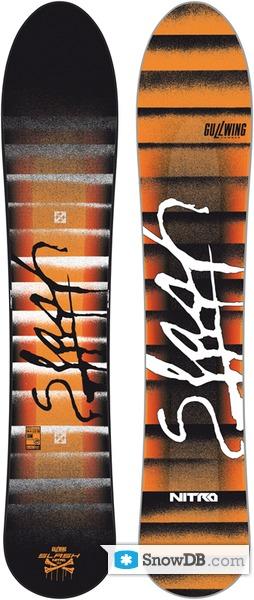 Snowboard Nitro Slash 2010/2011 :: Snowboard and ski catalog SnowDB com
