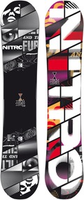 Nitro Team Wide 2011/2012 157 snowboard