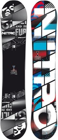Nitro Team Wide 2011/2012 162 snowboard