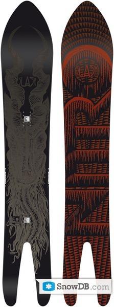 Snowboard Nitro Slash Gun 2011/2012 :: Snowboard and ski catalog