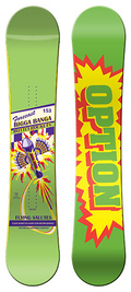 Option Forecast 2008/2009 snowboard