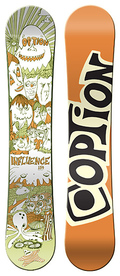 Option Influence 2008/2009 snowboard