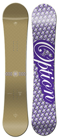 Option The Echo 2008/2009 146 snowboard