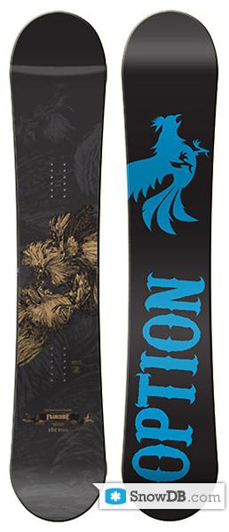 Option Franchise 2008 2009 153 Snowboard