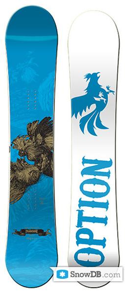 Option Franchise 2008 2009 157 Snowboard