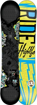Ride Highlife UL 2011/2012 snowboard