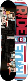 Ride Manic Wide 2011/2012 snowboard