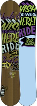 Ride Slackcountry UL 2011/2012 snowboard
