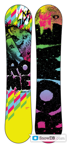 rome machine snowboard