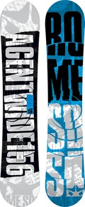 Rome Agent Wide 2011/2012 snowboard