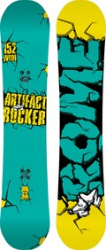 Rome Artifact Rocker Wide 2011/2012 snowboard