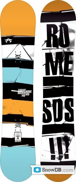 Snowboard Rome Garage Rocker 20112012 Snowboard And Ski Catalog