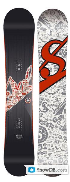 Snowboard Salomon Strobe 2007/2008 :: Snowboard and ski catalog