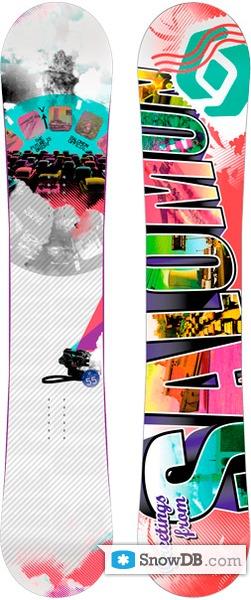 Snowboard Salomon Official 20102011 :: Snowboard and ski