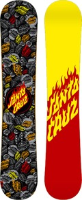 Santa Cruz Flaming Dot 2011/2012 snowboard