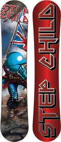 Stepchild Latchkey Regular Camber 2010/2011 snowboard