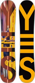 Yes Big City Wide 2011/2012 snowboard