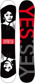 Yes Great Beauties of History 2011/2012 snowboard